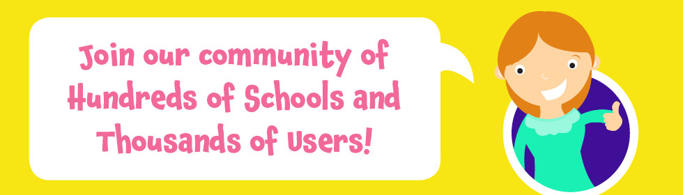 join our community of schools